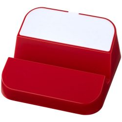 Hopper 3-in-1 USB hub and phone stand, ABS Plastic, Red