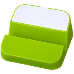 Hopper 3-in-1 USB hub and phone stand, ABS Plastic, Lime