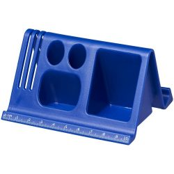 Logi multi-functional desktop stand, Plastic, Royal blue