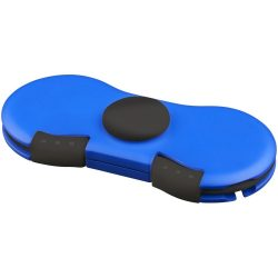 Spin-it charging cable widget, Plastic, Royal blue