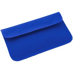 RFID Blocker Phone Case, Polyester, Royal blue
