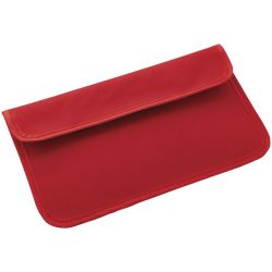 RFID Blocker Phone Case, Polyester, Red