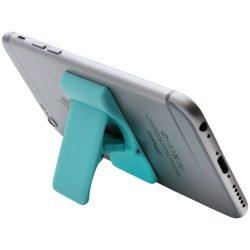 Suport telefon de birou cu adeziv, Everestus, STT131, plastic, verde, laveta inclusa