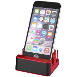 Glint light-up desk stand, ABS plastic, Red