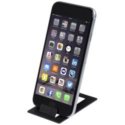Hold foldable phone stand, Plastic,  solid black