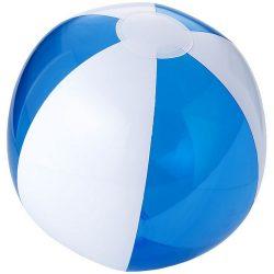 Bondi inflatable beach ball, PVC, Transparent blue,White
