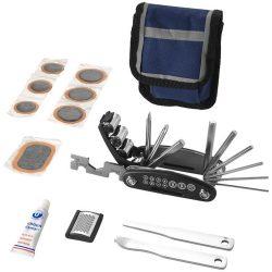 Wheelie bicycle repair kit, 600D polyester, Navy