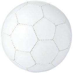 Minge de fotbal, marime 5, 32 paneluri, Everestus, IT01, pvc, alb, desfacator de sticle inclus