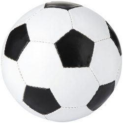 Curve size 5 football, PVC, White, solid black