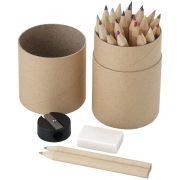Woodby 26-piece coloured pencil set, Cardboard, Wood