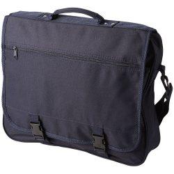 Geanta de conferinte, buzunar frontal, curele ajustabile, Everestus, AE, 600D poliester, albastru navy, sac si eticheta incluse