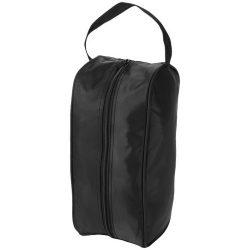 Portela shoe bag, 70D Nylon, solid black