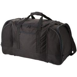 Geanta de umar de voiaj, Everestus, NA, 600D poliester, negru, saculet de calatorie si eticheta bagaj incluse