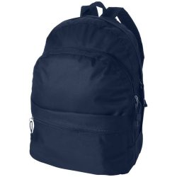 Rucsac confortabil, curele ajustabile, buzunar frontal, Everestus, TD, poliester, albastru navy, sac si eticheta incluse