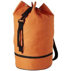 Sac marinaresc cu snur, maner lateral si bretea ajustabila, Everestus, IO08, poliester 600D, portocaliu, sac si eticheta incluse
