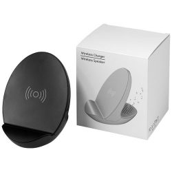 S10 Bluetooth® 3-function speaker,  solid black