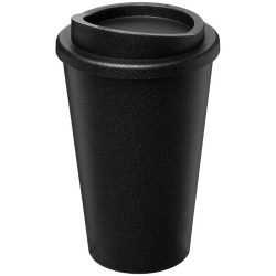 Americano® Midnight 350 ml insulated tumbler, PP Plastic, solid black