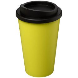 Americano® 350 ml insulated tumbler, PP Plastic, Lime, solid black