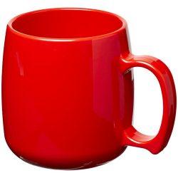 Classic 300 ml plastic mug, SAN, Red