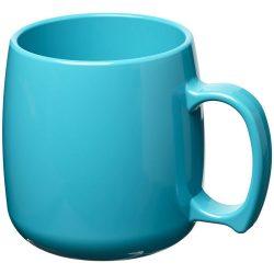 Classic 300 ml plastic mug, SAN, Aqua