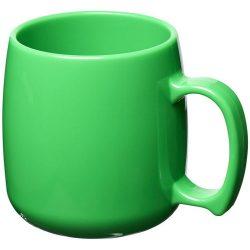 Classic 300 ml plastic mug, SAN, Green