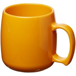 Classic 300 ml plastic mug, SAN, Orange
