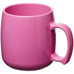 Classic 300 ml plastic mug, SAN, Pink