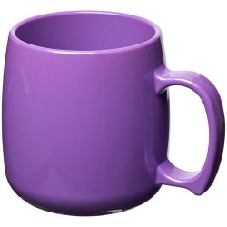 Classic 300 ml plastic mug, SAN, Purple
