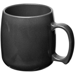 Classic 300 ml plastic mug, SAN, Midnight Black