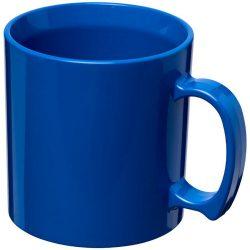 Standard 300 ml plastic mug, SAN, Blue