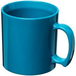 Standard 300 ml plastic mug, SAN, Aqua