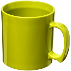 Standard 300 ml plastic mug, SAN, Lime