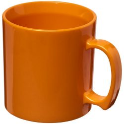 Standard 300 ml plastic mug, SAN, Orange