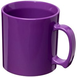 Standard 300 ml plastic mug, SAN, Purple