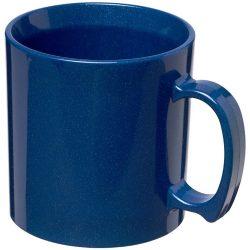 Standard 300 ml plastic mug, SAN, Mid Blue