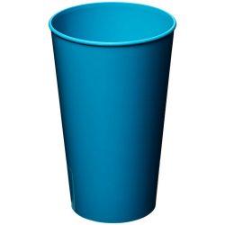 Arena 375 ml plastic tumbler, PP Plastic, Aqua