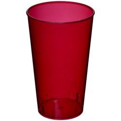 Arena 375 ml plastic tumbler, PP Plastic, Transparent,Magenta