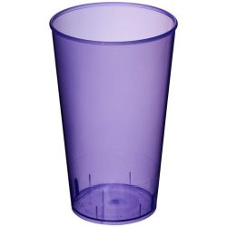 Arena 375 ml plastic tumbler, PP Plastic, Transparent,Purple