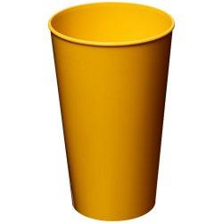 Arena 375 ml plastic tumbler, PP Plastic, Yellow