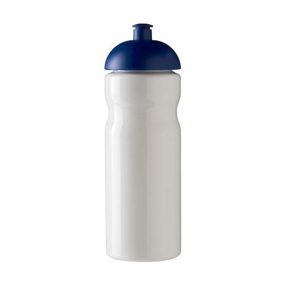 H2O Base® 650 ml dome lid sport bottle, PET, PP Plastic, White, Blue