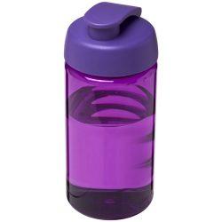 H2O Bop® 500 ml flip lid sport bottle, PET, PP Plastic, Purple
