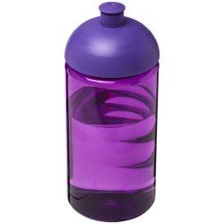 H2O Bop® 500 ml dome lid bottle, PET, PP Plastic, Purple