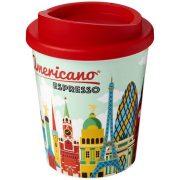Brite-Americano® Espresso 250 ml insulated tumbler, PP Plastic, Red