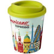 Brite-Americano® Espresso 250 ml insulated tumbler, PP Plastic, Lime