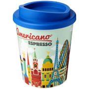 Brite-Americano® Espresso 250 ml insulated tumbler, PP Plastic, Mid Blue