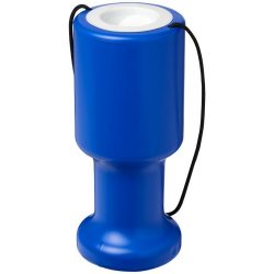 Asra hand held plastic charity container, Polyethylene, Blue
