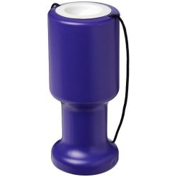 Asra hand held plastic charity container, Polyethylene, Purple