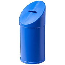 Heba plastic charity collector container, Polyethylene, Blue