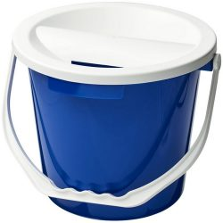 Udar charity collection bucket, PP Plastic, Blue
