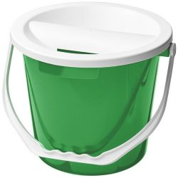 Udar charity collection bucket, PP Plastic, Green